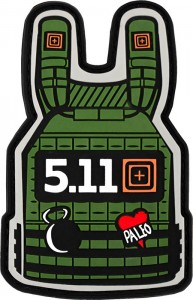 Patch 5.11 Plate Carrier Patch