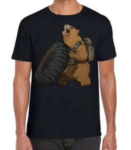 Limitowany T-shirt 5.11 Grizzly Fitness