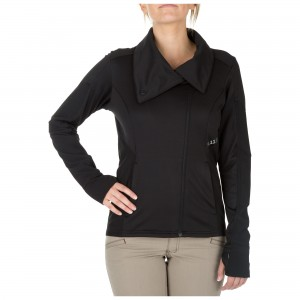 Bluza damska 5.11 Kinetic Full Zip Black