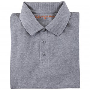 Koszulka Polo 5.11 Professional Short Sleeve Heather Grey