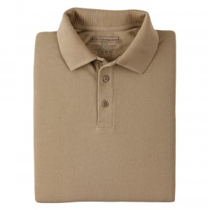Koszulka Polo 5.11 Professional Short Sleeve Silver Tan