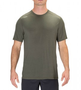 T-shirt 5.11 Range Ready Merino Wool Short Sleeve Ranger Green