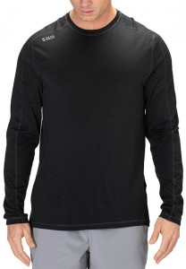 Koszulka 5.11 Range Ready Merino Wool Long Sleeve Black