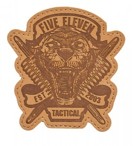 Patch 5.11 Tiger Ammo Patch Brown