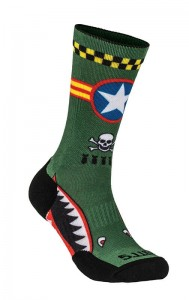 Skarpety 5.11 Sock and Awe Crew Air Raid