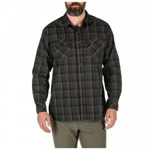Koszula 5.11 Peak L/S Shirt Oil Green Plaid