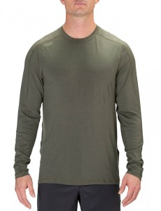 Koszulka 5.11 Range Ready Merino Wool Long Sleeve  Ranger Green