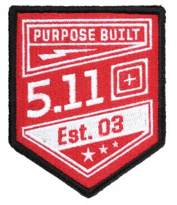 Patch 5.11 Purpose Built Range Red