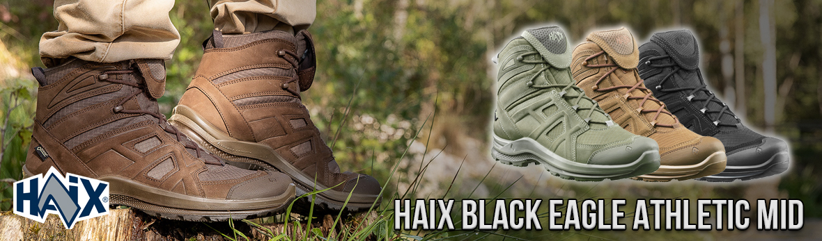 Haix Black Eagle Athletic mid